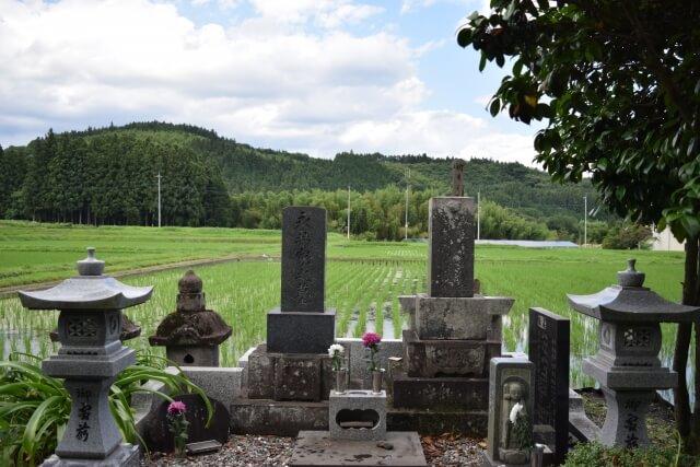 秋分の日 墓参り