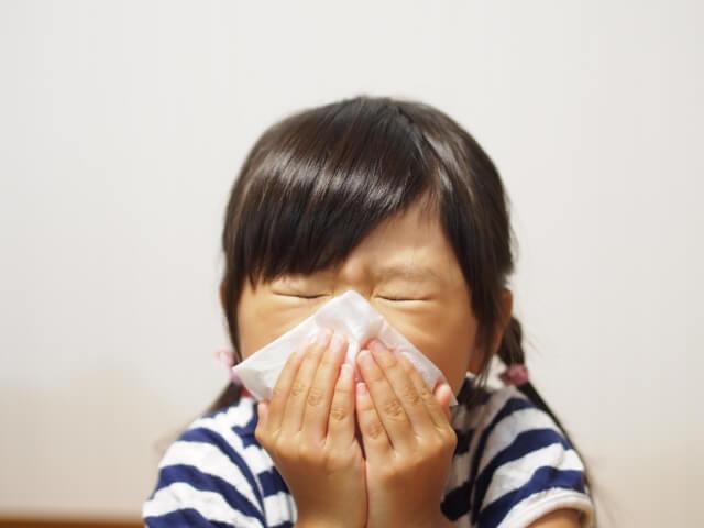 インフルエンザ鼻水01