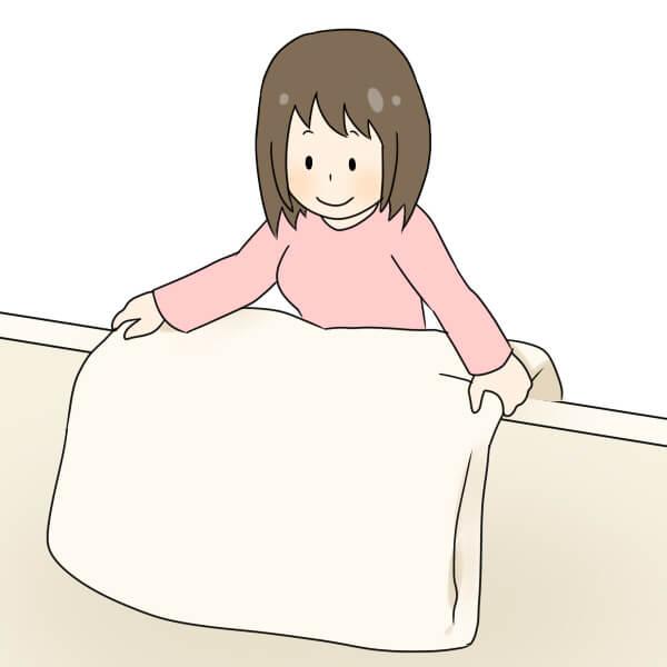 電気毛布ダニ対策