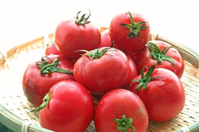 日焼け食べ物トマト