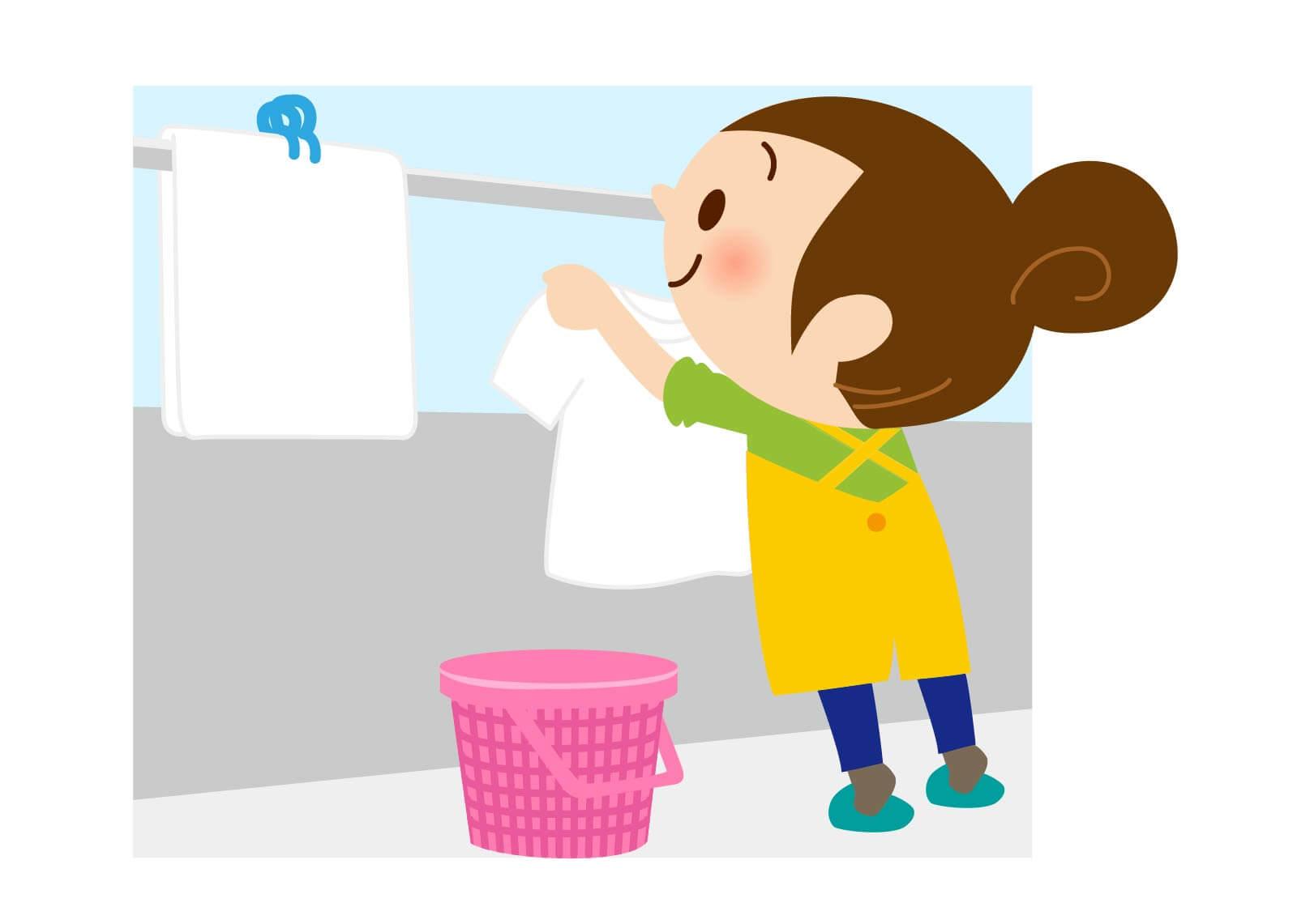 蚊対策 ベランダ 洗濯