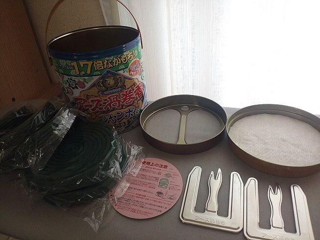 蚊取り線香 缶 使い方